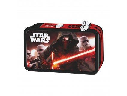 Penál Star Star Wars VII zipy vybavený