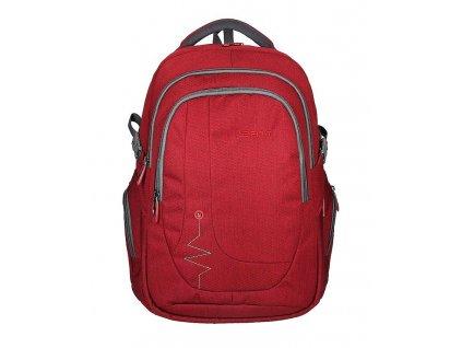Studentský batoh SPIRIT VOYAGER red