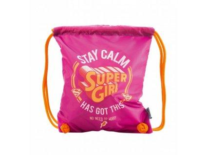 sacek na obuv supergirl stay calm 5 1