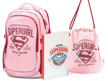 skolni set supergirl 1