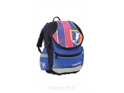 Školní batoh PLUS fotbal