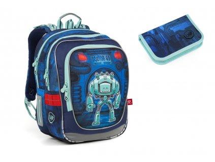 Školní batoh pro prvňáčky Topgal - SET SMALL -  ENDY 18047
