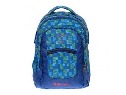 BelMil školní batoh od druhé třídy Green Blue
