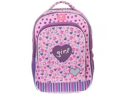 BelMil školní batoh od druhé třídy Trendy Girl