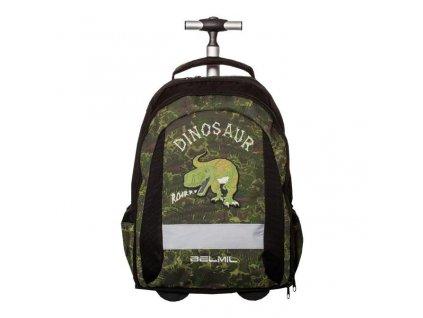 BelMil školní batoh na kolečkách  Dinosaur Hunting