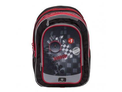 BelMil školní batoh od druhé třídy FORMULA RACING