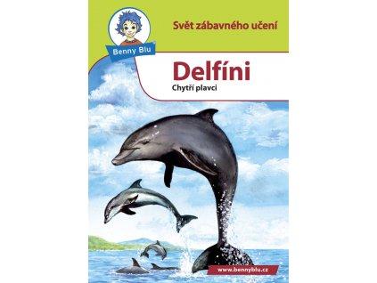 Encyklopedická knížečka do kapsy A6 - Benny Blu -  Delfíni