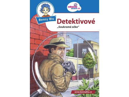 Encyklopedická knížečka do kapsy A6 - Benny Blu -  Detektivové