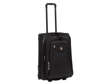 Ellehammer Copenhagen Trolley 45 l, cestovní kufr, rozšířitelný, černý