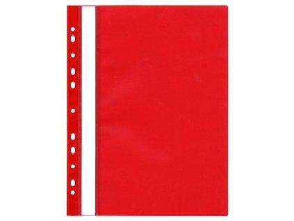 Rychlovazač závěsný A4 červený