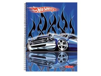 Blok A4 lamino Hot wheels