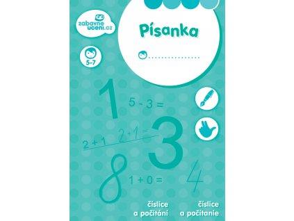Zábavné učení Písanka - Číslice a počítání A5