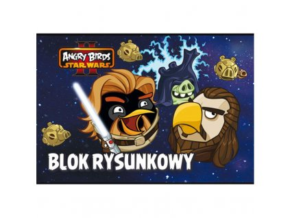Blok A4 20l Angry Birds