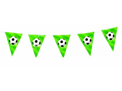 Girlanda na párty - fotbal