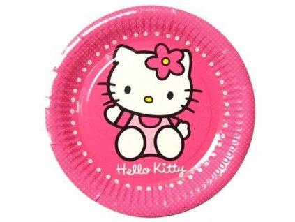 Párty talíky - Hello Kitty