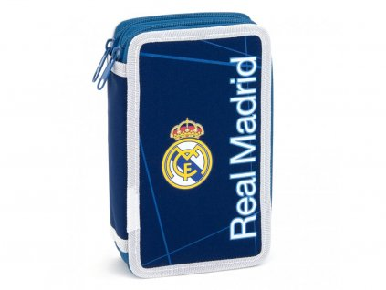 Penál Real Madrid tmavě modrý patrový