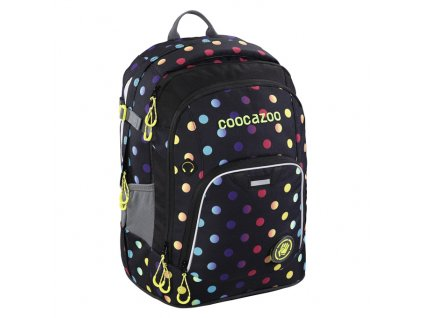 Školní batoh Coocazoo RayDay, Magic Polka Colorful  + dárek sluchátka hama