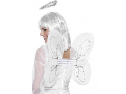 Křídla anděl + svatozář