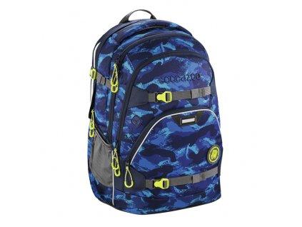 Školní batoh Coocazoo ScaleRale, Brush Camoug, certifikát AGR  + sluchátka zdarma