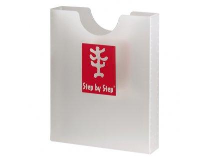 Desky na sešity Step by Step, průhledné