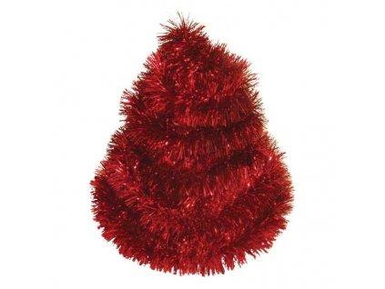 Vánoční řetěz 2 metry  - červený