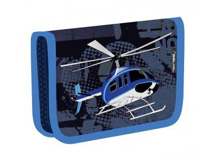 Školní penál BelMil prázdný - Helicopter