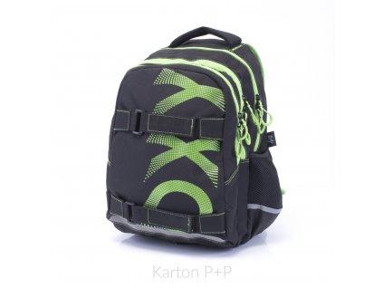 Studentský batoh i školní batoh na vyšší stupeň ZŠ OXY One Wind Green