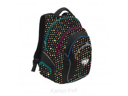 Studentský batoh OXY Fashion Dots