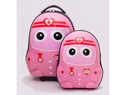 Dětské zavazadlo + batůžek Cuties and Pals - zdravotní sestra