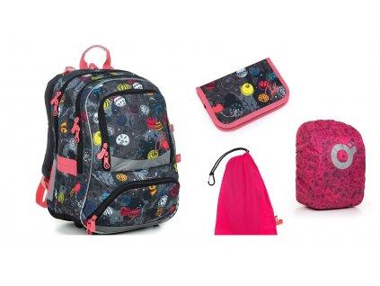 Školní batoh Topgal NIKI 19007 - SET LARGE