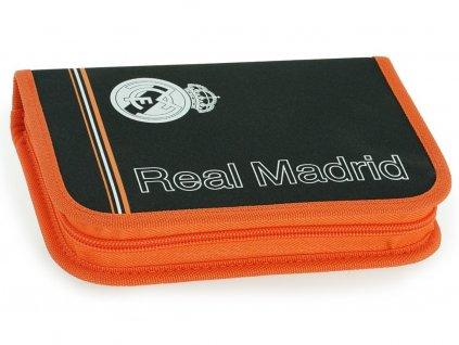 Penál Real Madrid černooranžový plněný