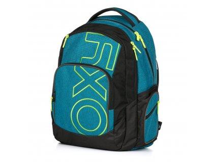 Studentský batoh OXY Style Blue/green