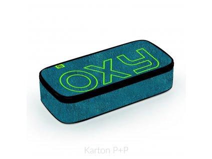 Pouzdro etue komfort OXY Blue/green