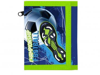Dětská textilní peněženka fotbal
