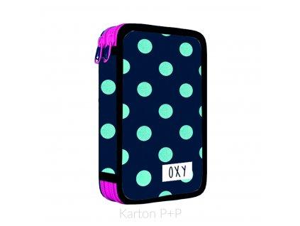 Penál 2 p. prázdný OXY Dots