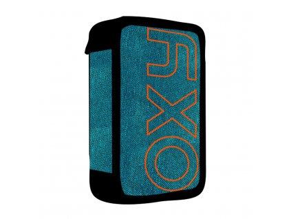 Penál 3 patra prázdný OXY Blue/orange