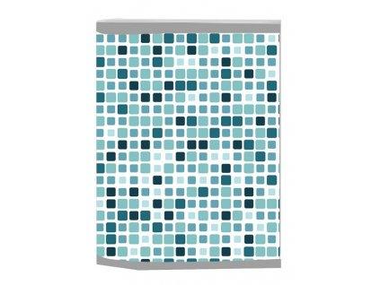 Sešit A4 s plastovými deskami - čtverce