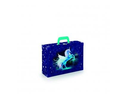 Kufřík lamino hranatý okovaný Unicorn 1