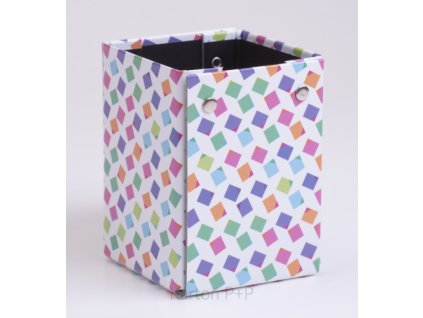 Kelímek na tužky lamino Cubes