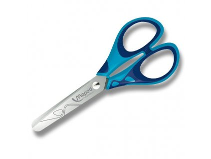 Nůžky Maped Essentials Soft - 13 cm - modré
