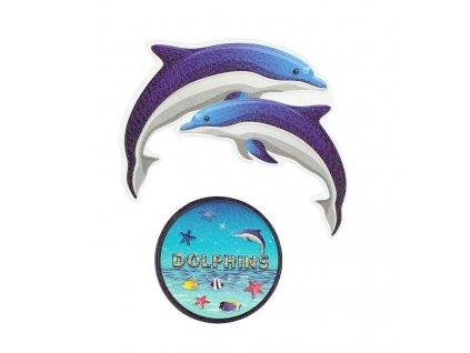 Samolepky Delfín 2 ks