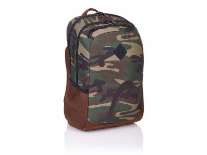 Maskáčový batoh do školy - Head