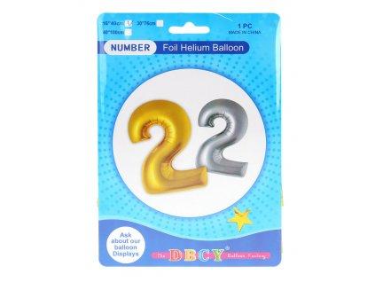 Nafukovací číslo - balonek 2