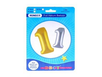 Nafukovací číslo - balonek 1