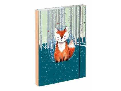 baagl desky na skolni sesity a4 foxie 7
