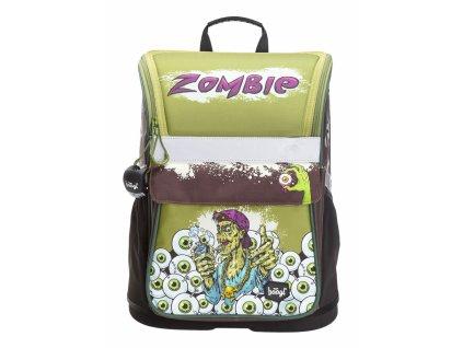 Školní aktovka pro prvňáčky Baagl - Zippy Zombie + dárek