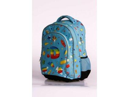 Školní batoh - Déčko + dárek