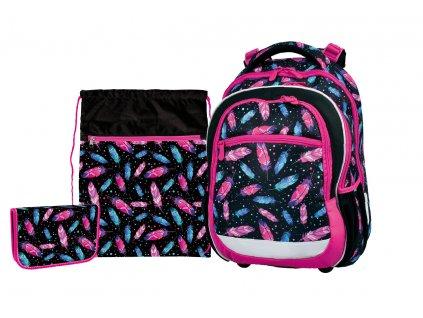 Školní batoh v setu pro prvňáčky - Stil - Indian