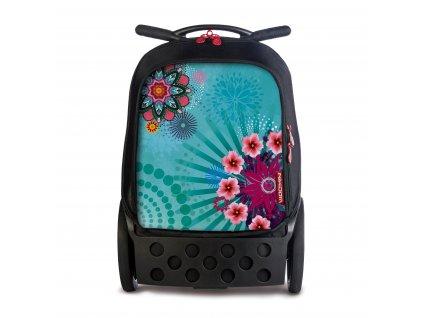 Školní taška na kolečkách Nikidom Roller Oceania  + DÁREK Sportovní vak Nikidom Roller Sportsbag