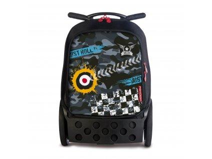 Školní taška na kolečkách Nikidom Roller Camo  + DÁREK Sportovní vak Nikidom Roller Sportsbag